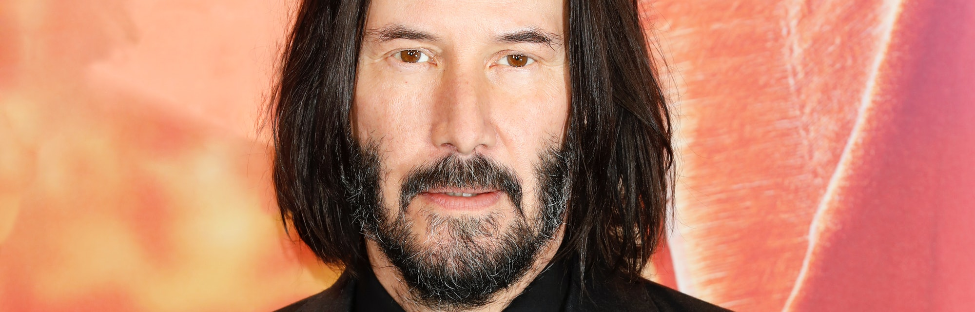BERLIN, GERMANY - MAY 06: (EDITORS NOTE: Image has been digitally retouched) Keanu Reeves attends th...