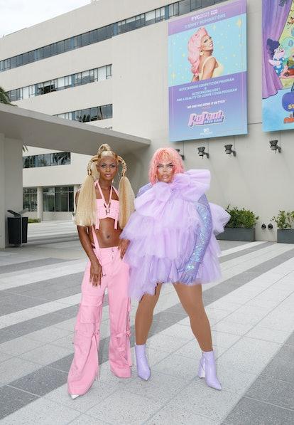 LOS ANGELES, CALIFORNIA - AUGUST 19: Rupaul's Drag Race Season 13 finalist Kandy Muse and Season 13 ...