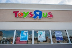 A Toys R Us and Babies R Us combination store is seen in North Riverside, IL on March 10, 2018. Toys...