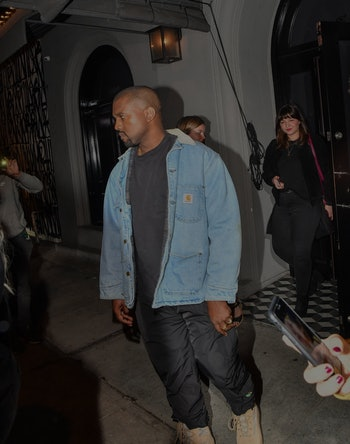 LOS ANGELES, CA - JANUARY 12: Kanye West is seen on January 12, 2018 in Los Angeles, California.  (P...