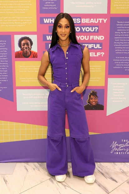 NEW YORK, NEW YORK - AUGUST 19: MJ Rodriguez & The Marsha P. Johnson Institute partner with H&M to S...