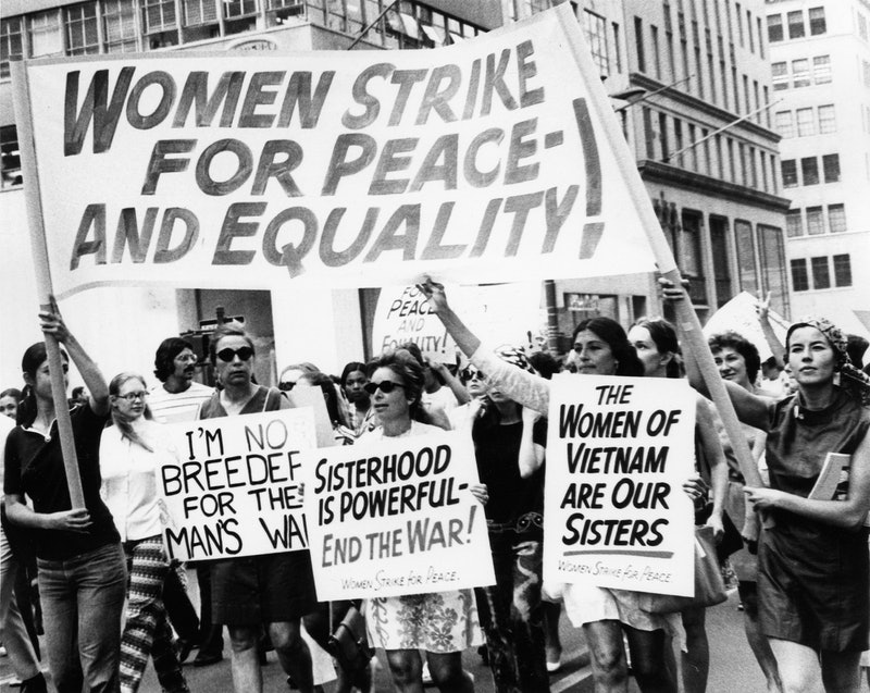Women's Strike for Peace-And Equality, Women's Strike for Equality, Fifth Avenue, New York, New York...