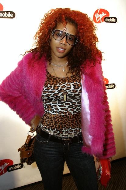 Kelis during Virgin Mobile Celebrates Chrismahanukwanzakah at Roxy in New York, New York, United Sta...
