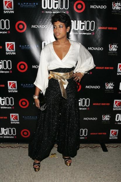 NEW YORK - NOVEMBER 10: Singer Kelis arrives at Out Magazine's Out 100 Awards on November 10, 2006 i...