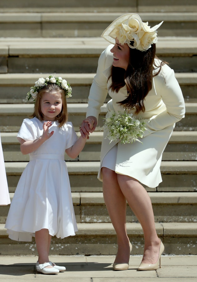 Princess Charlotte was a lovely bridesmaid.