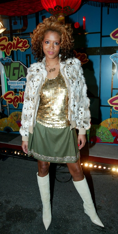 """LAS VEGAS - DECEMBER 02:   Singer Kelis attends the """"1st Annual Video Game Awards"""" at the MGM Grand ..."""
