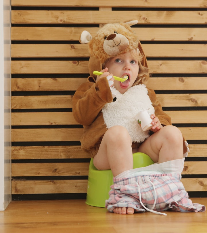 Try these potty training hacks when you're desperate.