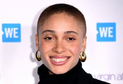 Adwoa Aboah attending the WE Day UK charity event and concert held at The SSE Arena, Arena Square, L...