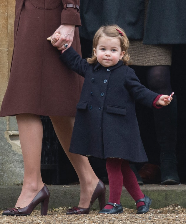 Princess Charlotte is ready for Christmas.