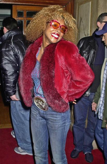 LONDON - APRIL 6:  Kelis attends the Destinys Child Show Case Party at the Porchester Hall in West L...