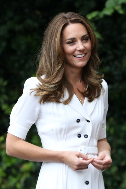 Kate Middleton's subtle highlights are one of her greatest hair moments. Here, Catherine, Duchess of...