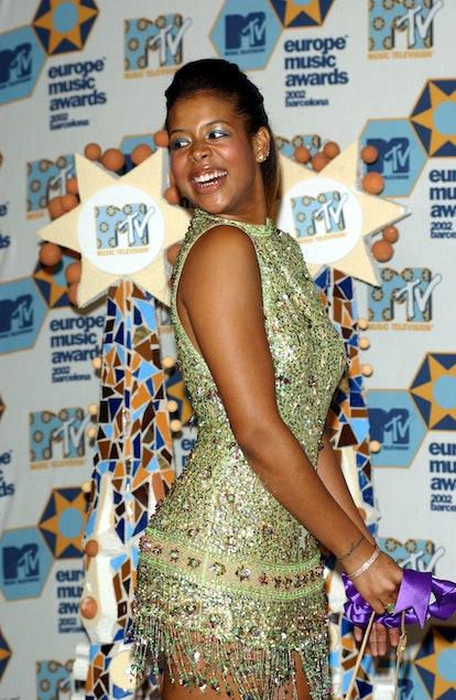 BARCELONA, SPAIN - NOVEMBER 14:  R&B singer Kelis  attends the MTV Europe Music Awards November 14, ...