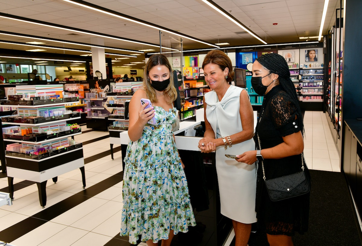 RAMSEY, NEW JERSEY - AUGUST 20: Laura Slatkin (C) attends Sephora at Kohl's Exclusive Store Launch o...