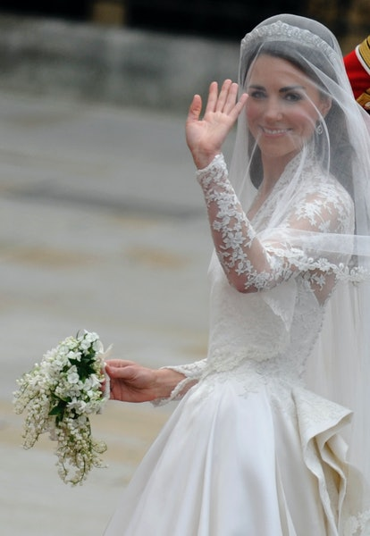 Kate Middleton's wedding hairstyle is one of her best of all time.