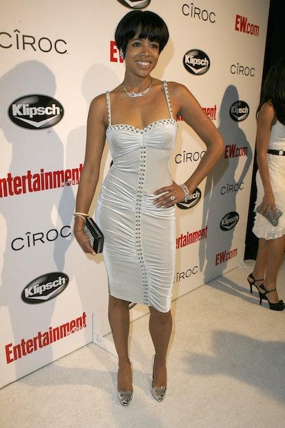 "WEST HOLLYWOOD, CA - FEBRUARY 10:  Singer Kelis arrives at Entertainment Weekly's toast to Antonio ""..."