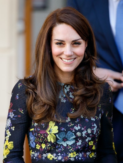 Kate Middleton's side part is one of her greatest hair moments. Catherine, Duchess of Cambridge atte...