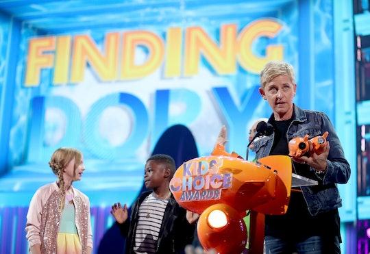 Actor Ellen DeGeneres, the star of Finding Dory.