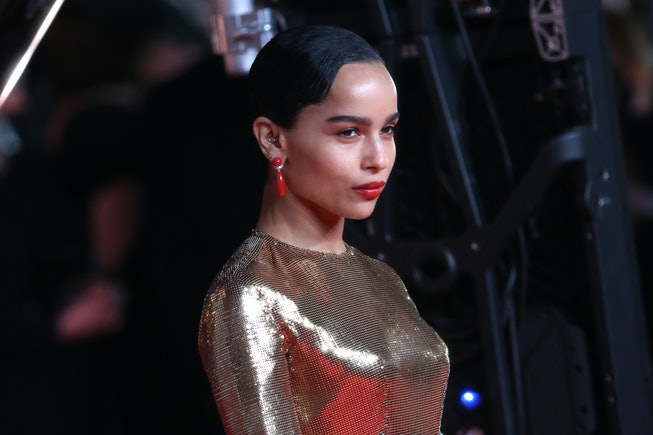 LONDON, ENGLAND - FEBRUARY 02: Zoe Kravitz attends the EE British Academy Film Awards 2020 at Royal ...