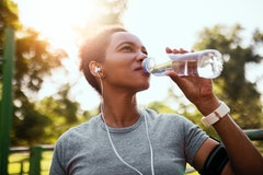 Experts explain the benefits of electrolyte water and how it compares to other hydrating beverages.
