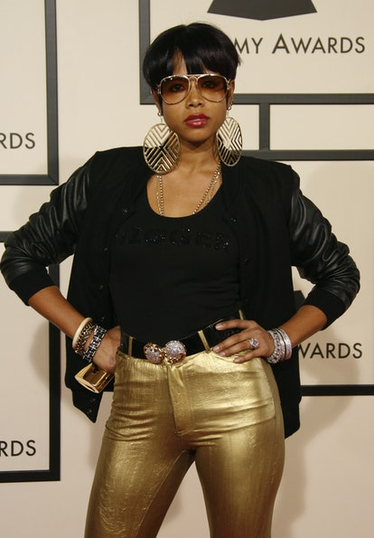 LOS ANGELES - FEBRUARY 10: Singer Kelis arrives on the red carpet for The 50th Annual Grammy Awards ...