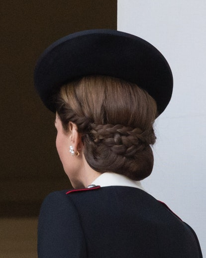 Kate Middleton's epic braided chignon is one of her best hair moments. Catherine Duchess of Cambridg...