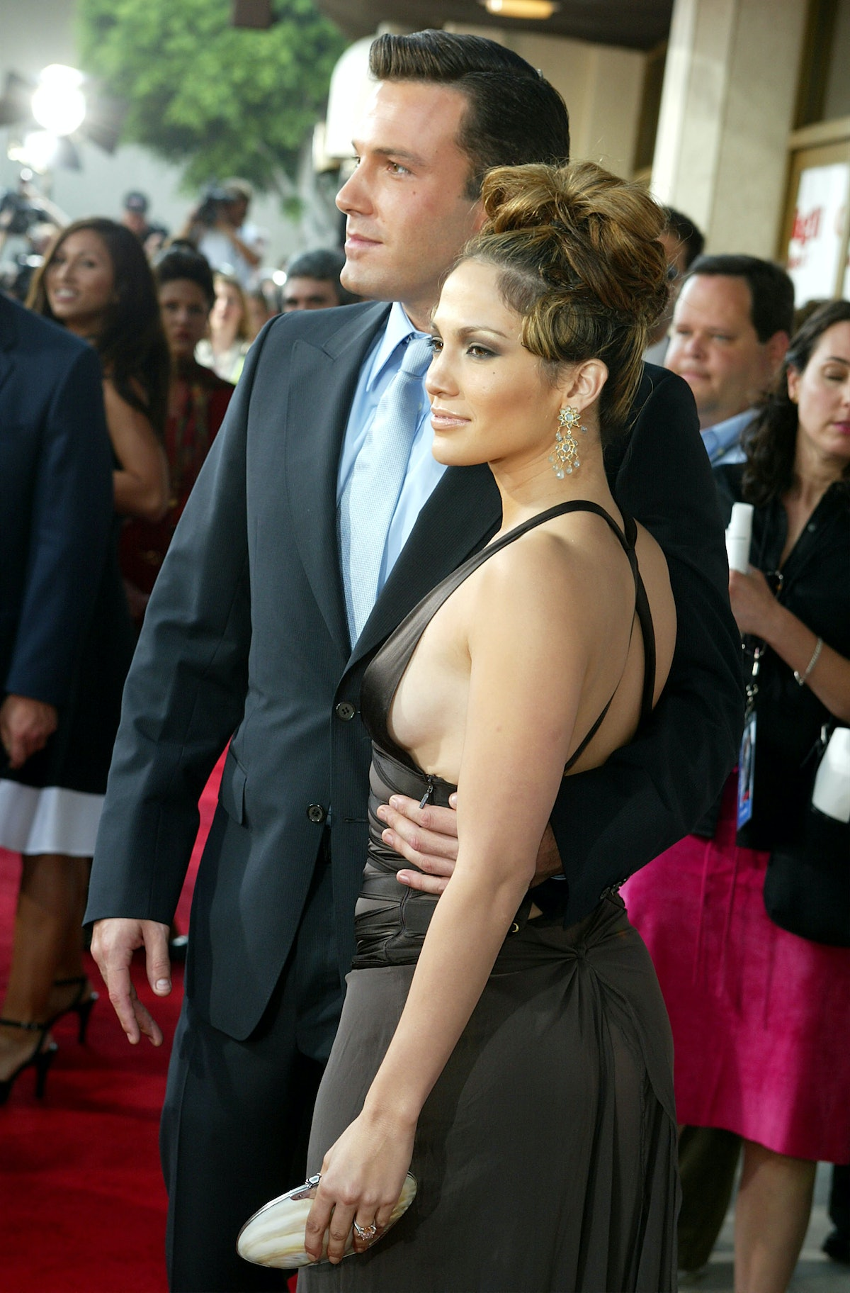 Jennifer Lopez and Ben Affleck first got engaged in 2002.