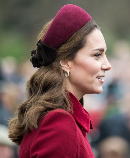 Kate Middleton Best Hair Moments: This thick headband was incredible. Here, Catherine, Duchess of Ca...