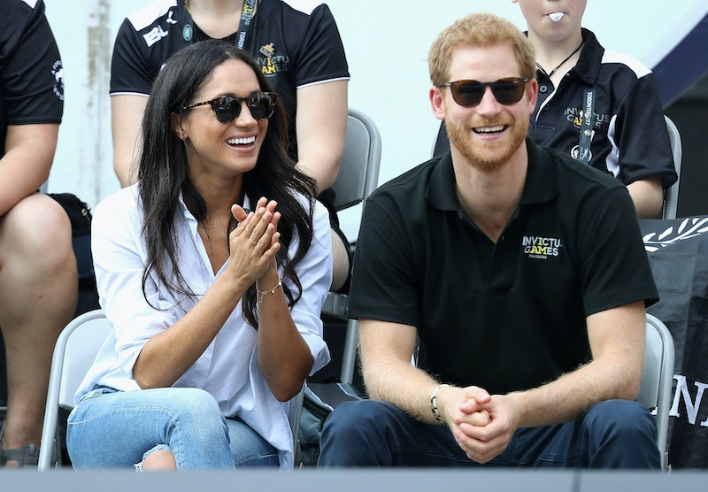 Meghan Markle's Husband Shirt is now available up to a size 4X. Designer Misha Nonoo talks to Bustle...