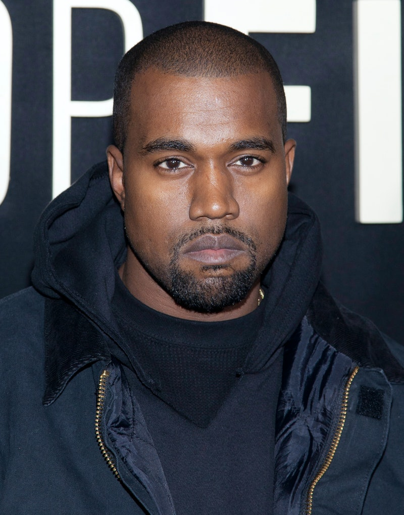 """Kanye West attends the """"Top Five"""" New York premiere at the Ziegfeld Theater in New York City. �� LAN..."""