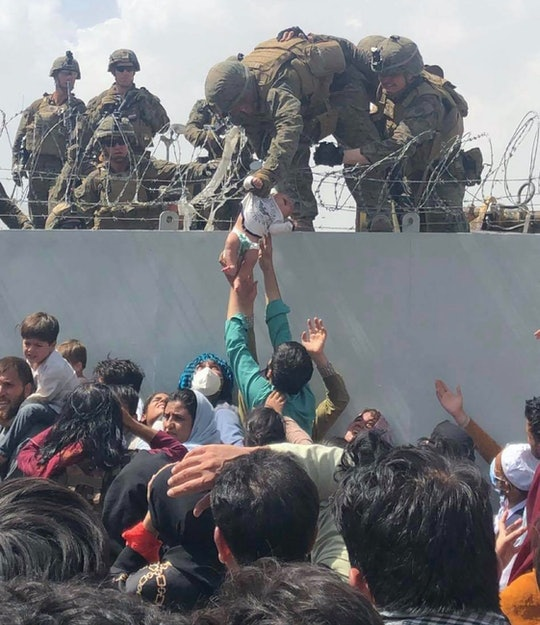 TOPSHOT - This image made available to AFP on August 20, 2021 by Human Rights Activist Omar Haidari,...