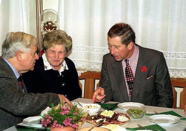 Prince Charles likes his own mushrooms best.