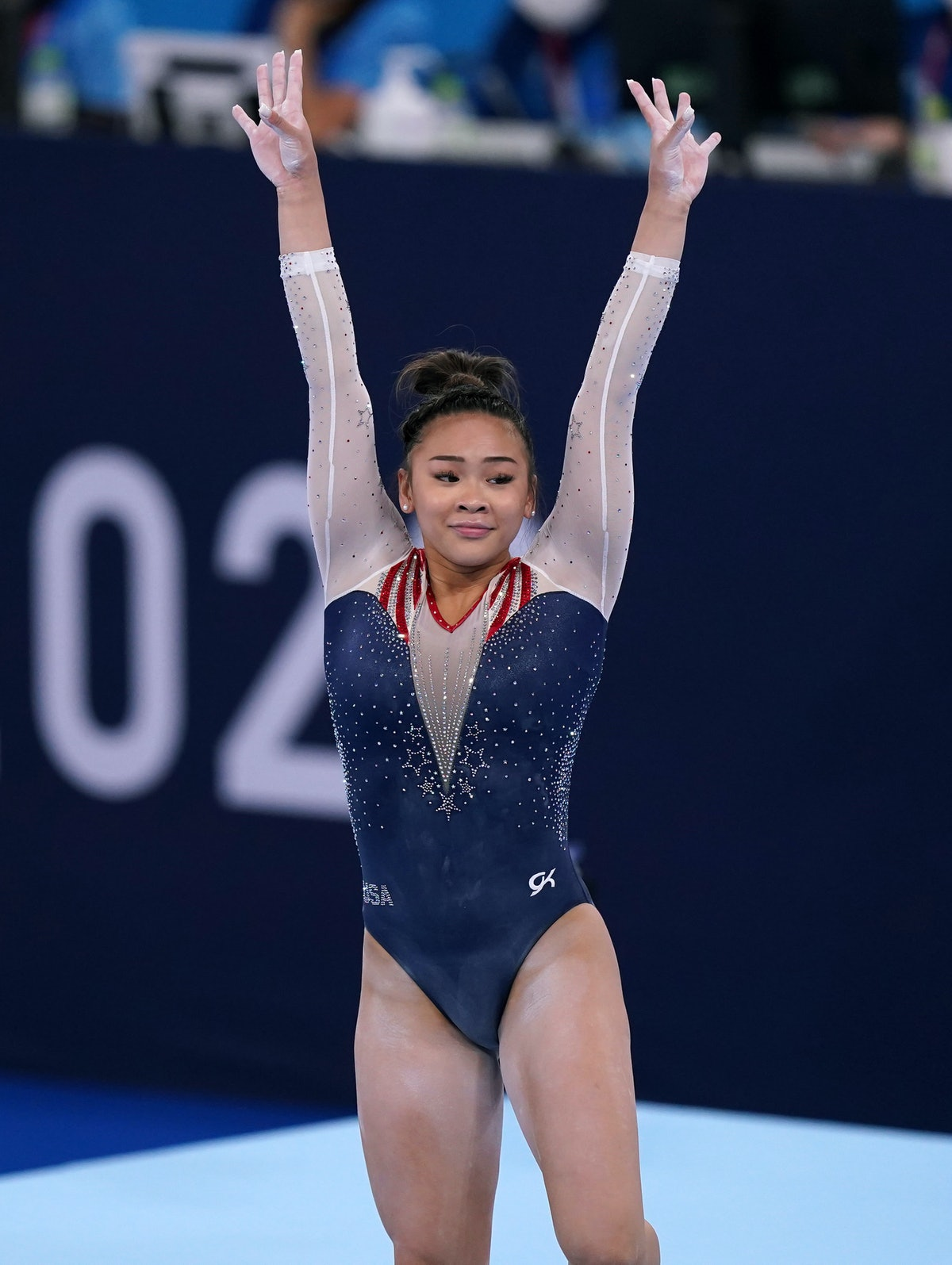 USA's Sunisa Lee, who will compete on DWTS