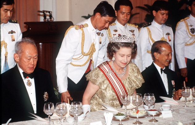 Queen Elizabeth loves steak in a mushroom sauce.