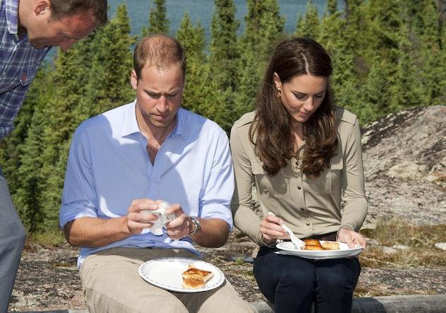 Kate Middleton loves spicy food.