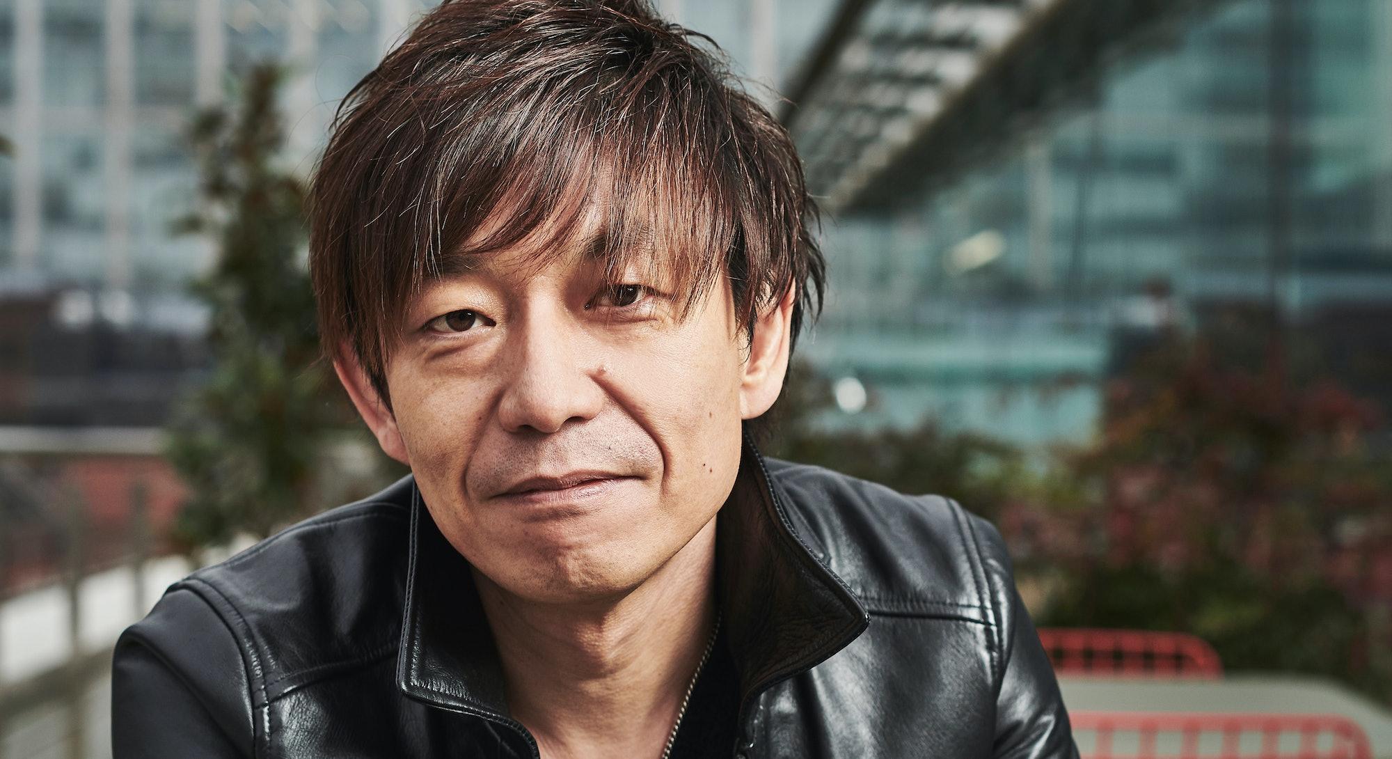 LONDON, UNITED KINGDOM - NOVEMBER 21: Portrait of Japanese video games developer Naoki Yoshida, phot...