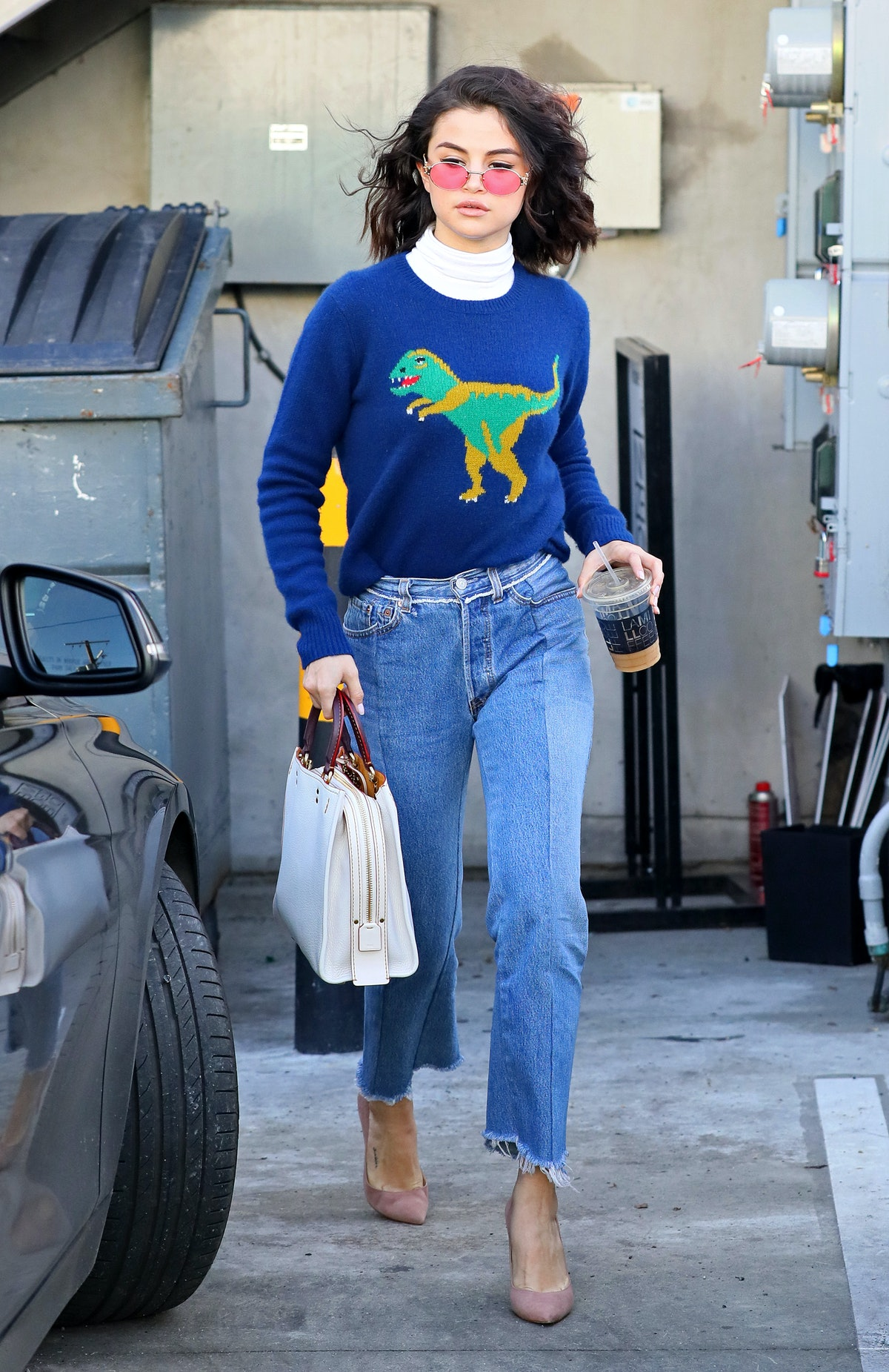 LOS ANGELES, CA - JANUARY 19: Selena Gomez is seen on January 19, 2017 in Los Angeles, California.(P...