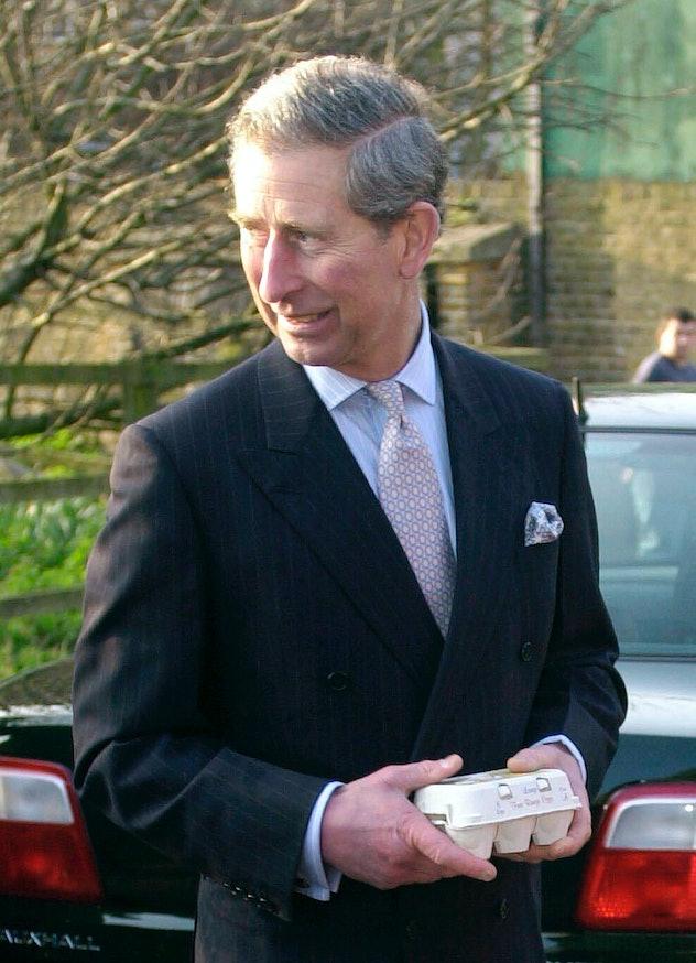 Prince Charles loves a boiled egg.