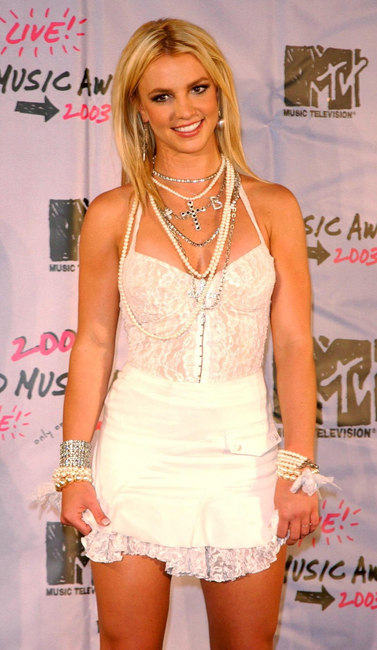 Britney Spears arriving for the MTV Video Music Awards at Radio City Music Hall in New York, USA.  0...