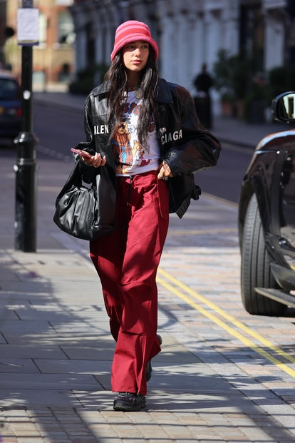 LONDON, ENGLAND - AUGUST 25: Dua Lipa was born in a hotel in London, E ... on August 25, 2021 ...