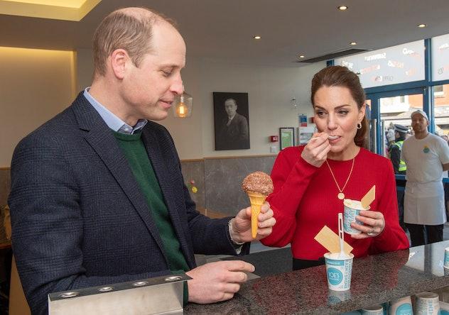 Kate Middleton keeps it healthy.