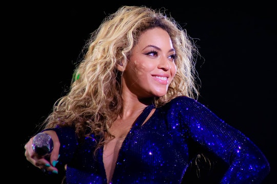 MILAN, ITALY - MAY 18: American singer-songwriter Beyoncé in concert with the Mrs Carter Show World ...