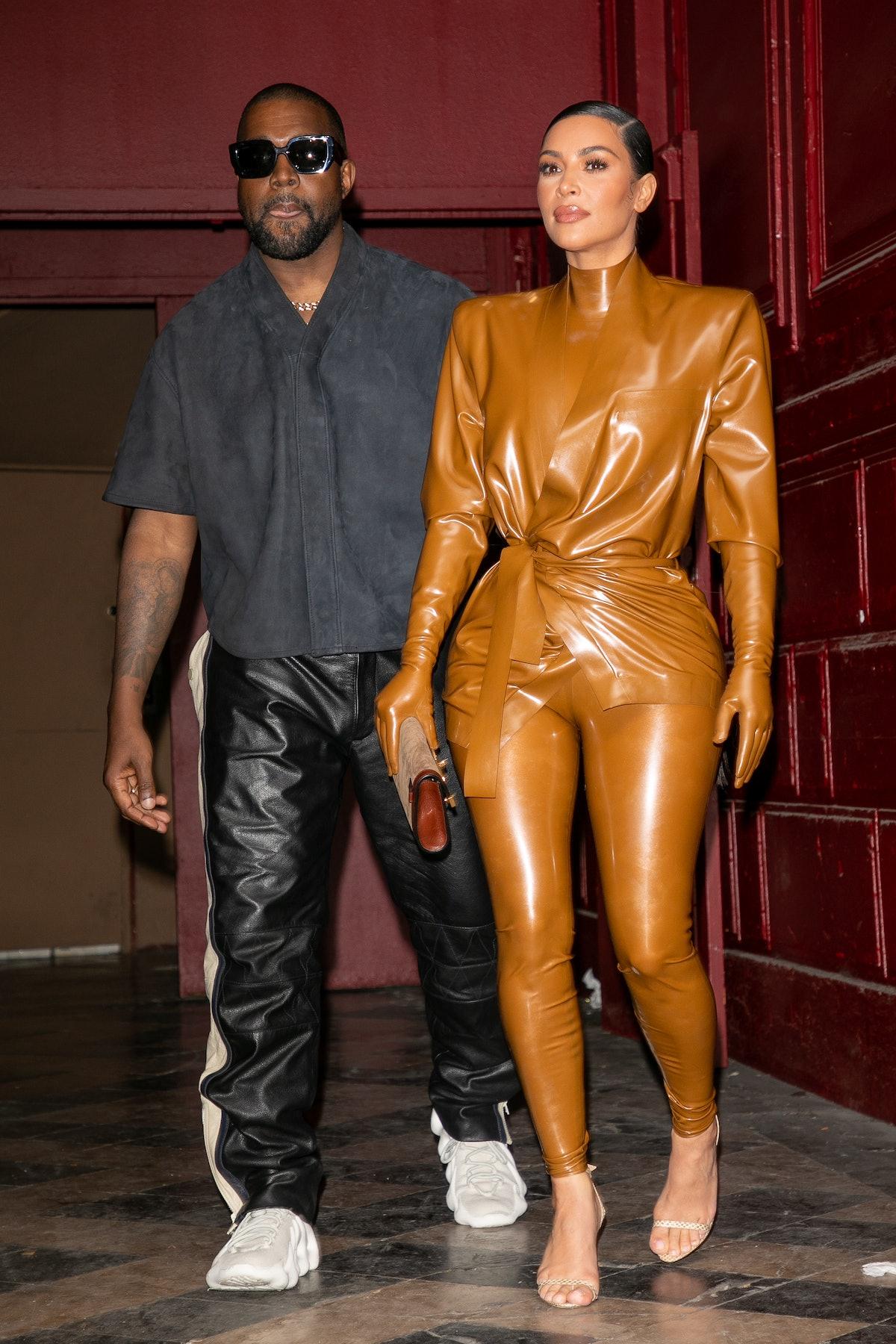 Kim Kardashian and Kanye West recreated their wedding.