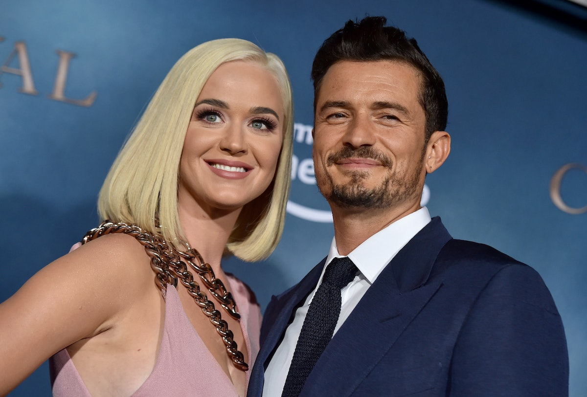 Katy Perry and Orlando Bloom posted for Daisy Dove's first birthday.