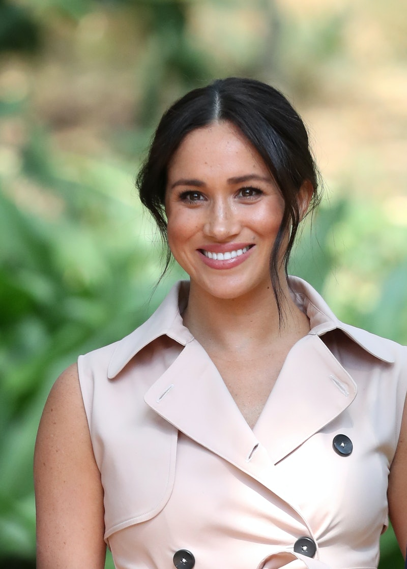 JOHANNESBURG, SOUTH AFRICA - OCTOBER 02: Meghan, Duchess of Sussex attends a Creative Industries and...