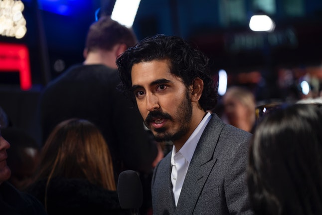 """LONDON, ENGLAND - OCTOBER 02:  Dev Patel attends """"The Personal History Of David Copperfield"""" Europea..."""
