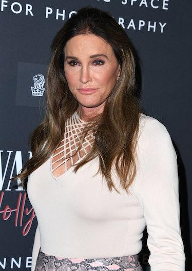 CENTURY CITY, CALIFORNIA - FEBRUARY 04: Caitlyn Jenner arrives at the Vanity Fair: Hollywood Calling...