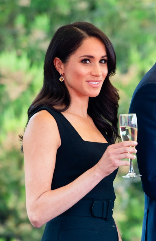 DUBLINE, IRELAND - JULY 10:  Meghan, Duchess of Sussex attends a Summer Party at the British Ambassa...