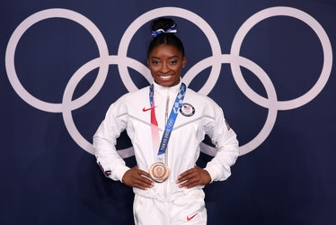 Simone Biles' quotes about winning bronze for beam are meaningful.