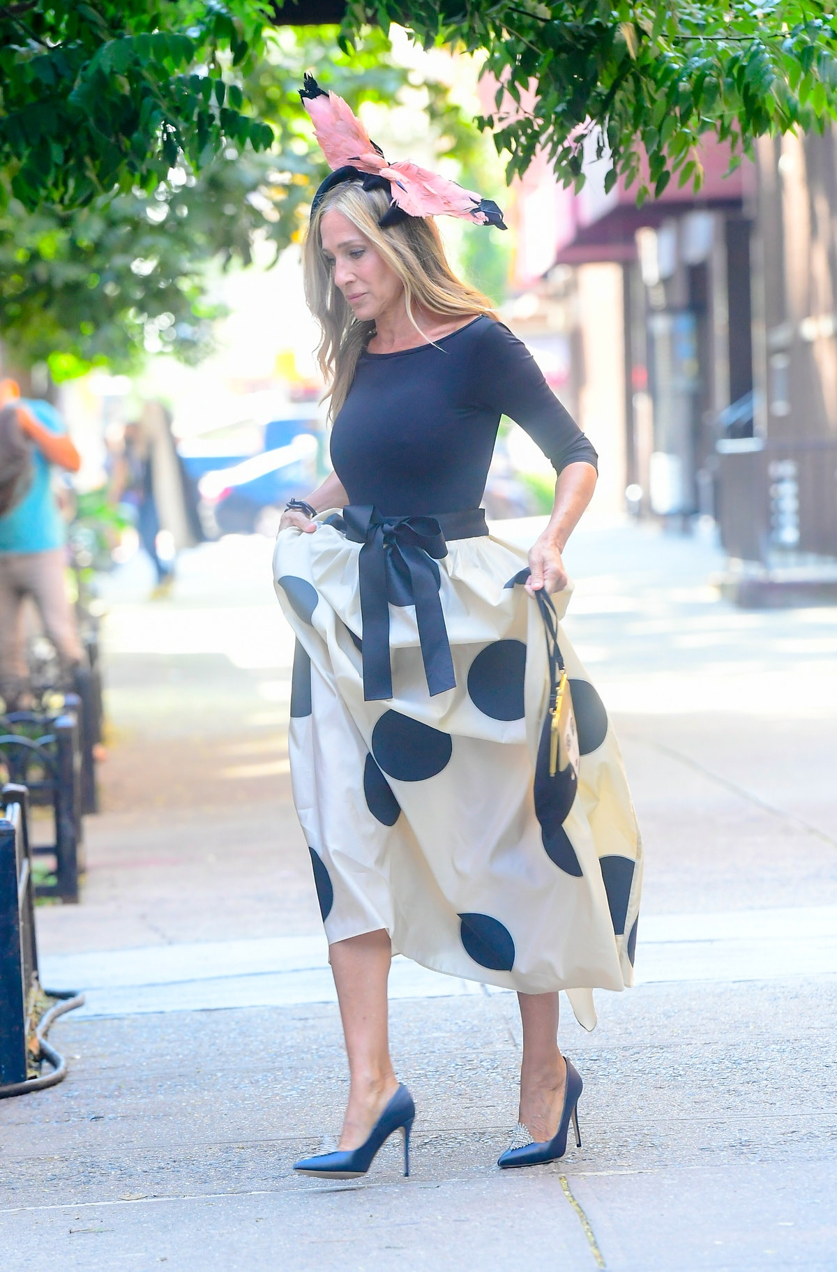 """Sarah Jessica Parker seen on the set of """"And Just Like That..."""""""