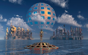 A type 2 civilization has created a Dyson sphere around their native star, enabling them to harness ...